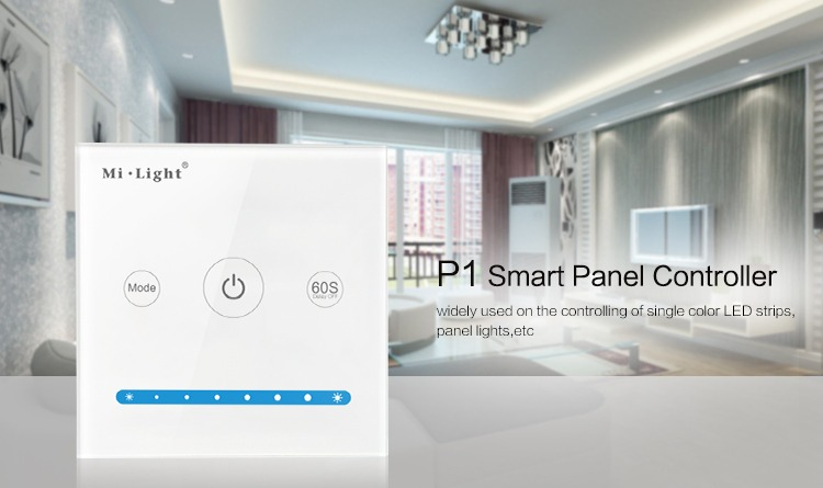 Mi-Light smart panel controller brightness P1 features
