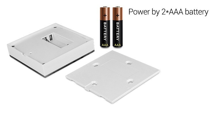 LED smart wall panel controller battery operated 2 x AAA batteries