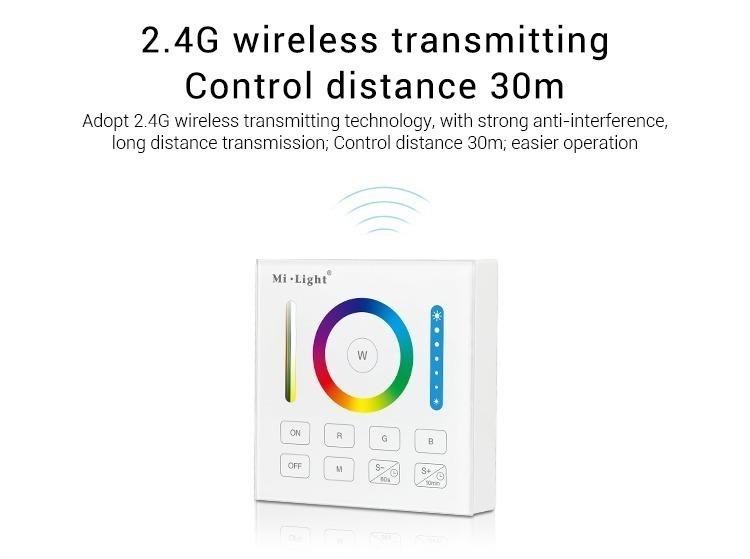 2.4GHz wireless transmitting control distance 30m