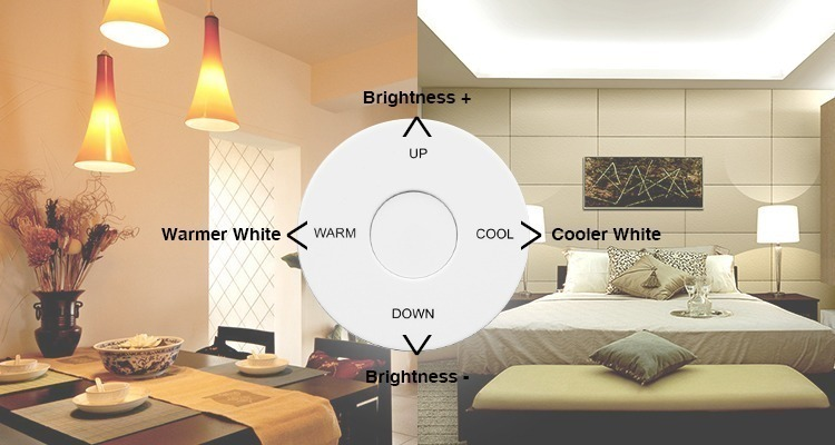 brightness and colour temperature control any room LED smart lighting Mi-Light
