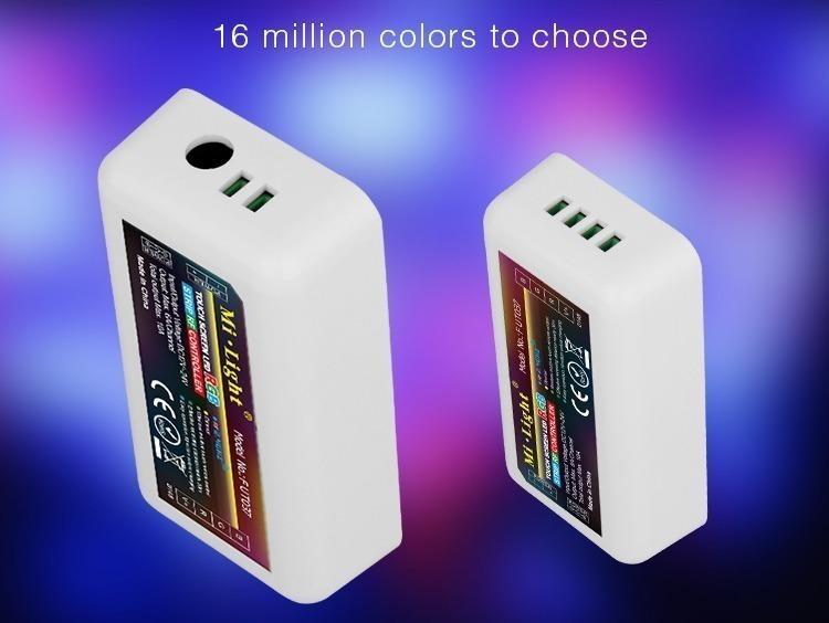16 million colours to choose RGB LED strip controller