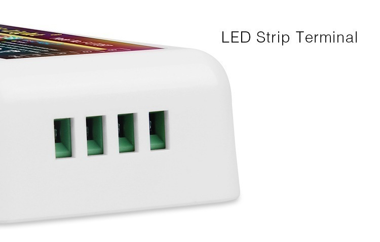 smart LED RGB controller strip terminals input connection