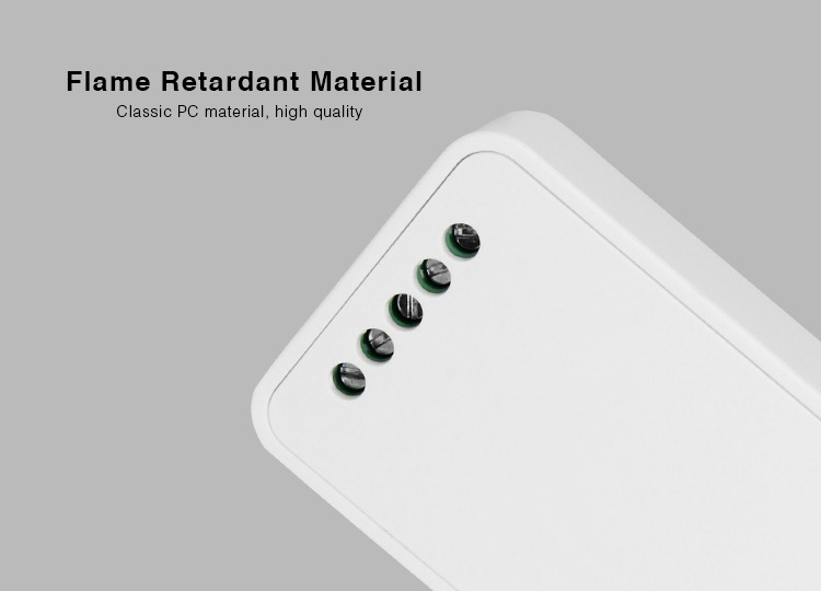 Mi-Light 2.4GHz 4-zone RGBW LED strip controller FUT038 flame retardant material classic PC material high-quality