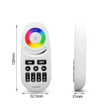 RGB RGBW button remote controller white multicolour size
