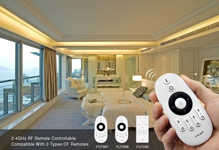 2.4GHz RF remote controller compatible with Mi-Light control