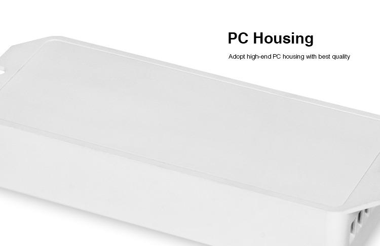 high quality PC body nice design smart lighting housing white amlifiers