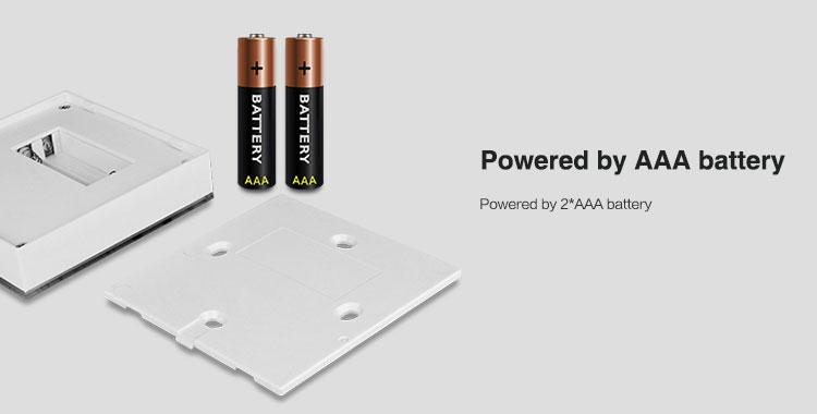 Mi-Light 4-zone RGB/RGBW smart panel B3 powered by 2 x AAA batteries