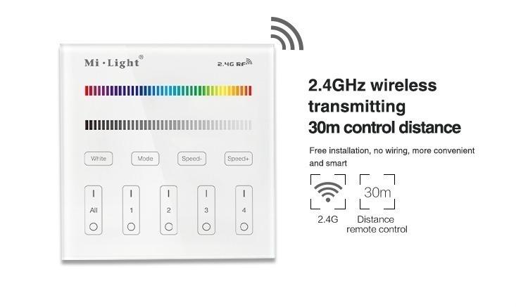 2.4GHz wireless transmitting 30m control distance