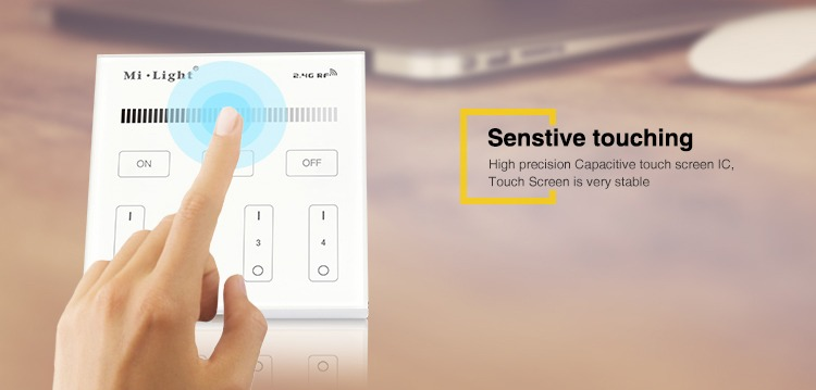 sensitive touching high precision capacitive touch screen IC stable