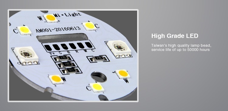 high grade Taiwan LED chips service life up to 50000 hours