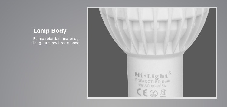 lamp body flame resistant material long-term heat resistance