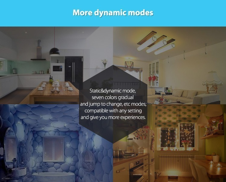 more dynamic modes smart remote controller wall panel contro milight