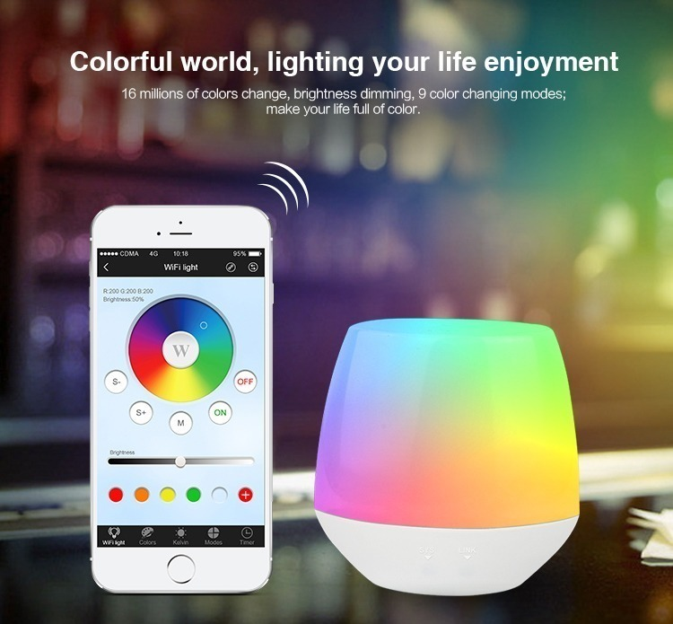 colourful world lighting your life enjoyment 16 million colours WiFi bridge box