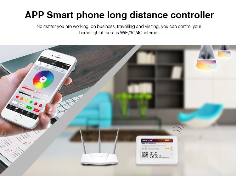 Mi-Lioght control lighting with this device WiFi router