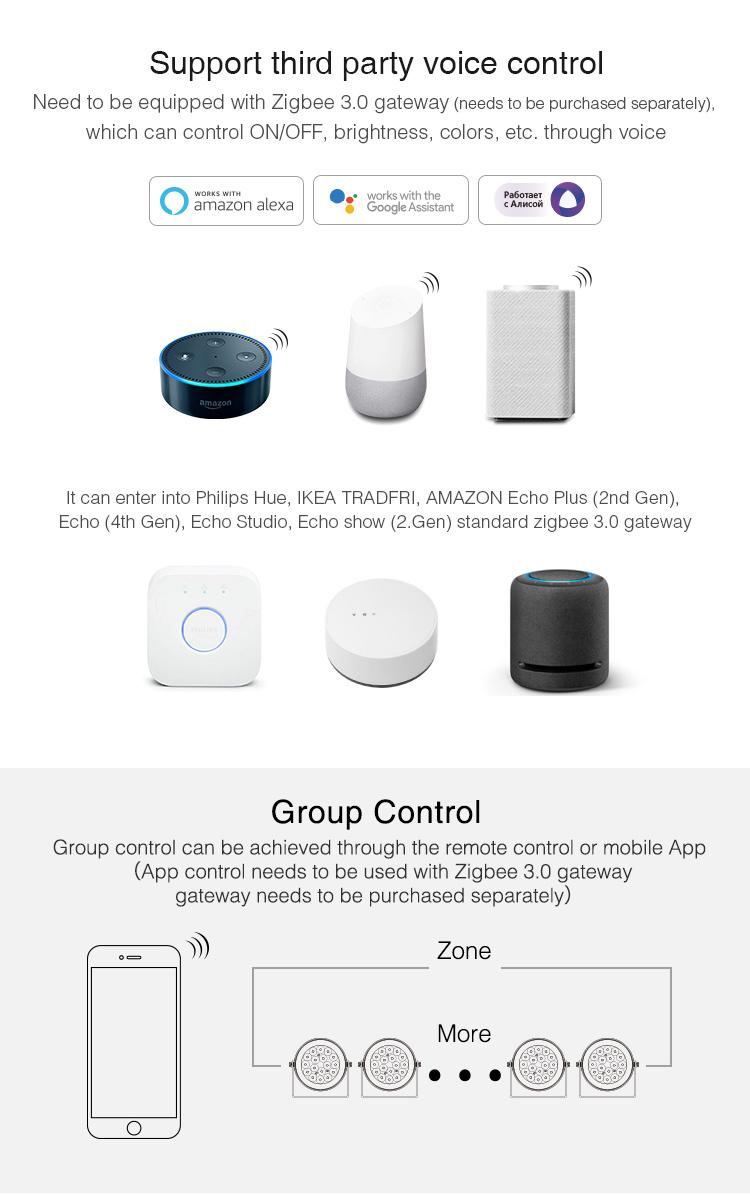 Many Zigbee hubs are compatible