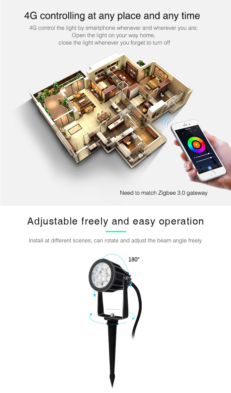 control light from anywhere easy control via app