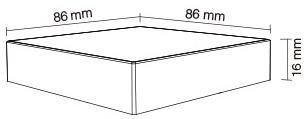 B4-B Mi-Light product size