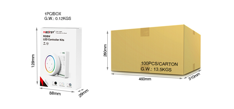 RGBW FUT038SA packaging bulk buy UK