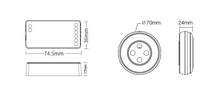 FUT039SA product size technical image