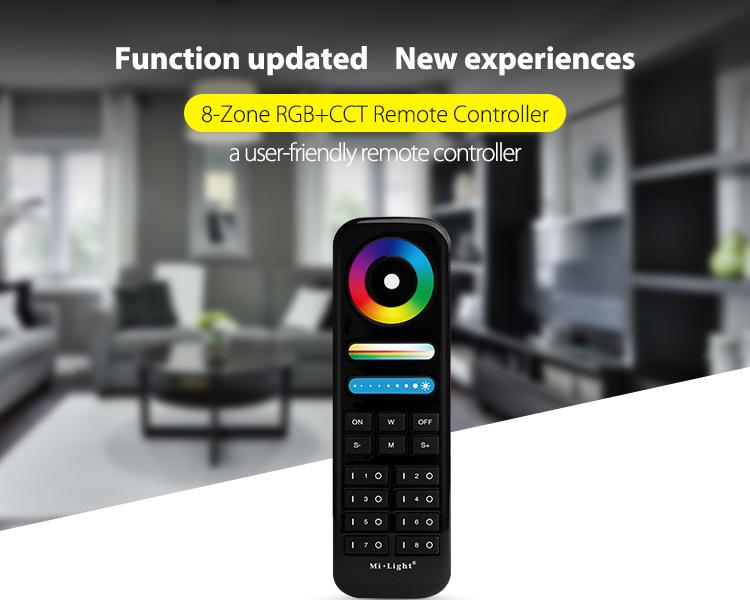 2021 Mi-Light black remote control