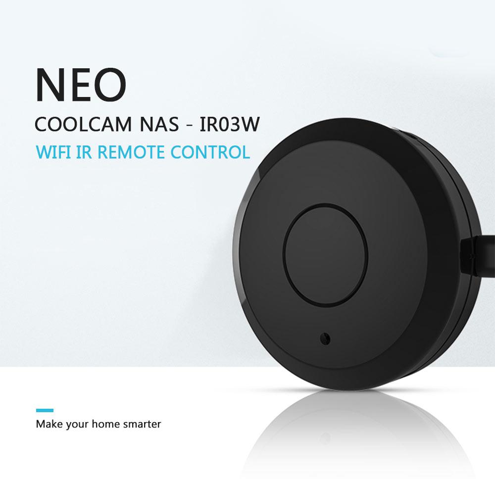 NEO Coolcam WiFi IR remote control NAS - IR03W make your home smarter