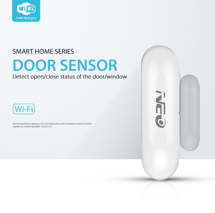NEO WiFi smart door and window sensor smart home security
