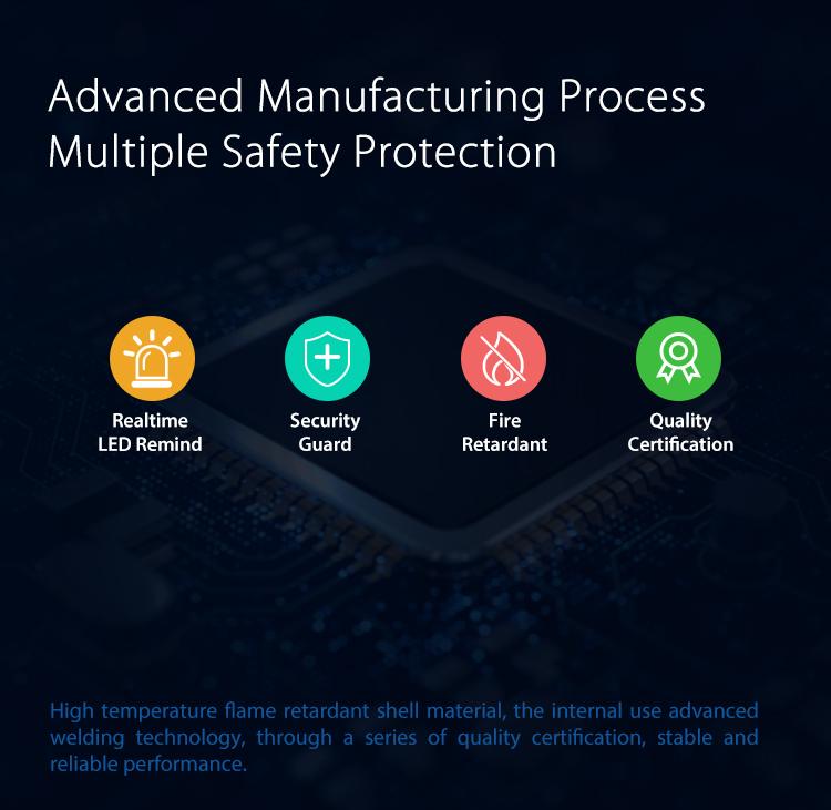 NEO WiFi smart door and window sensor fire retardant quality security LED indicator