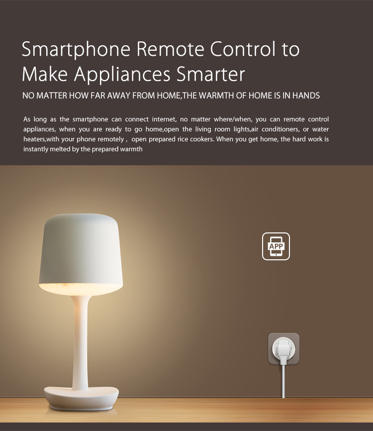 NEO WiFi smart UK power plug smartphone remote control app iOS Android mobile device