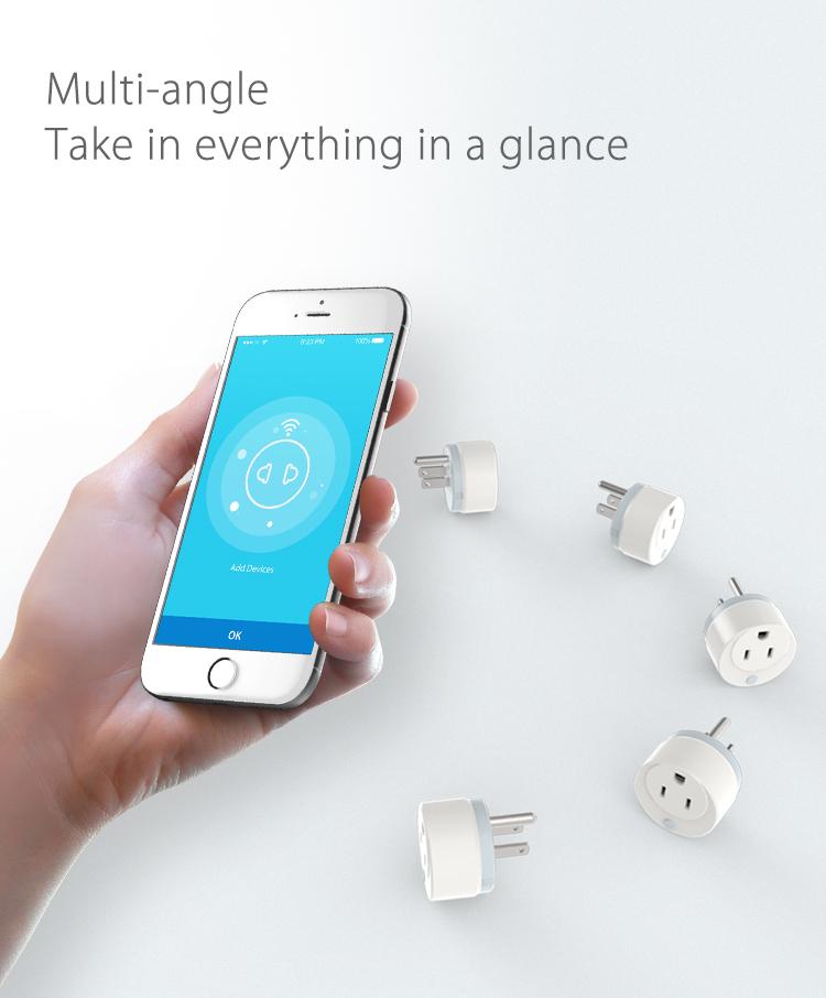 NEO WiFi smart UK power plug all devices smartphone app control