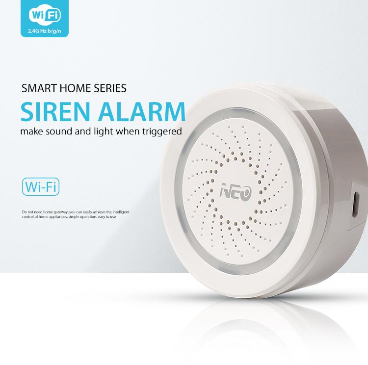 NEO WiFi smart alarm siren - smart home series