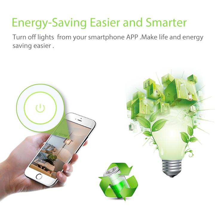 NEO WiFi smart light switch 3 gangs energy-saving easier and smarter