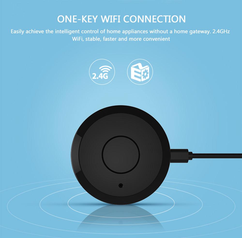 NEO Coolcam WiFi IR remote control one key WiFi connection intelligent control home gateway 2.4GHz