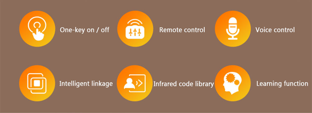 NEO Coolcam WiFi IR remote control ON OFF voice control intelligent linkage infrared code library learning function
