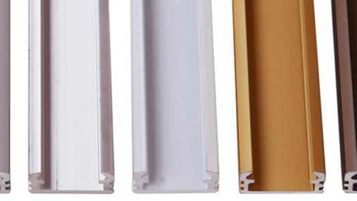 Surface aluminium profiles for LED strips