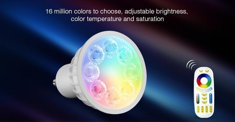 16 million colours to choose FUT103 adjustable brightness colour temperature and saturation spotlight