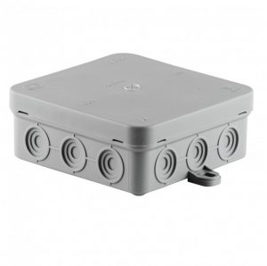 SCAME surface junction box 100x100x40 IP54