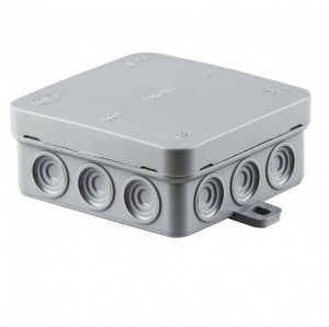 SCAME surface junction box 85x85x37 IP54