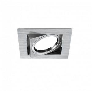 DESIGN LIGHT recessed adjustable downlight fixture EXU-12 brushed steel