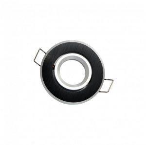 LED line® MR11 recessed adjustable ceiling downlight brushed black