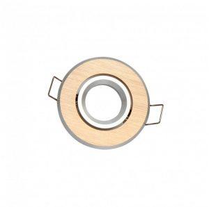 LED line® MR11 recessed adjustable ceiling downlight brushed gold