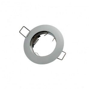 LED line® MR16 flat recessed ceiling downlight chrome