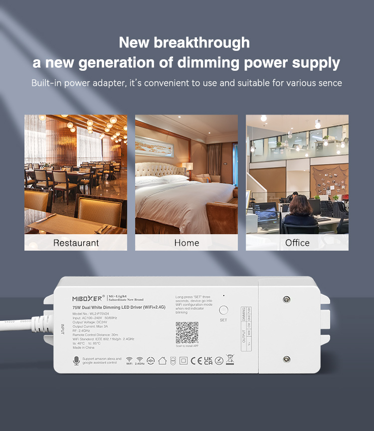 new breakthrough a new generation power supply designed for restaurant office and home