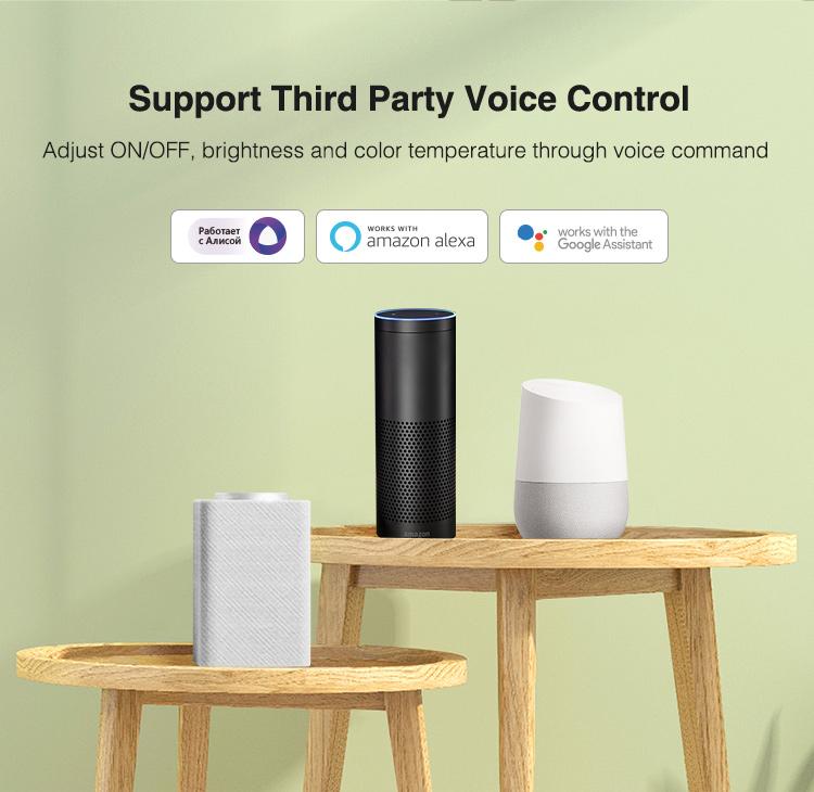 3 smart voice controllers black Amazon Alexa white Google Assistant
