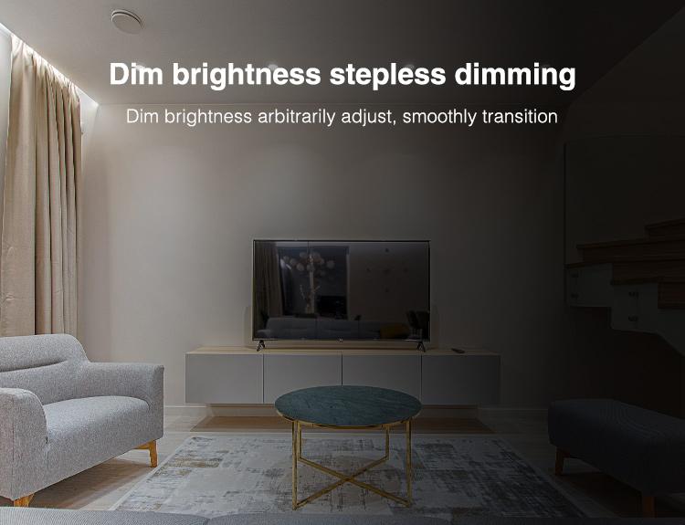mains powered LED strip dimmer for multicolour LED strips