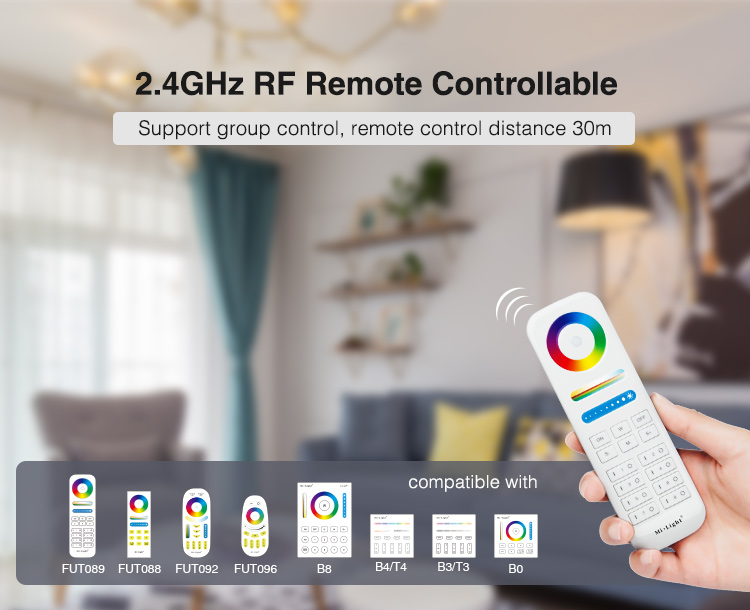 voice control app control and remote control for LED strips make your lighting smart