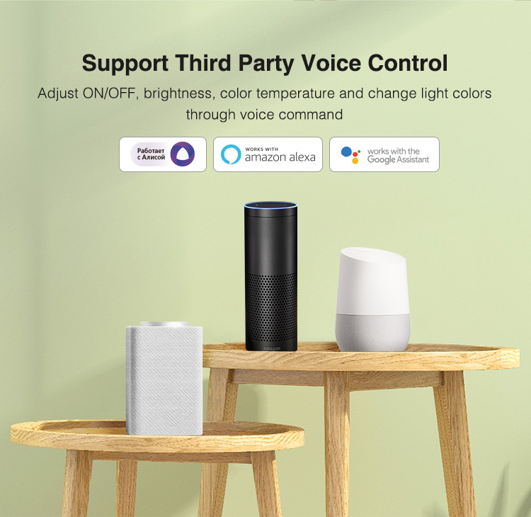 be smart and voice control your lights at home office restaurant or hotel