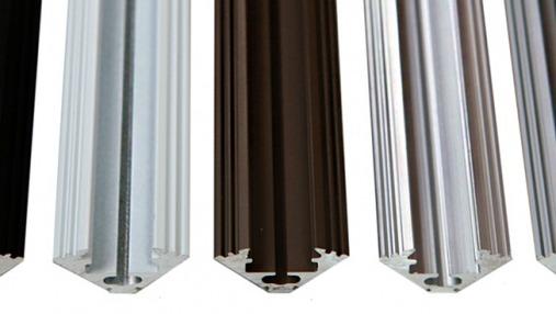 P3 corner aluminium led extrusions channels profiles LED strips