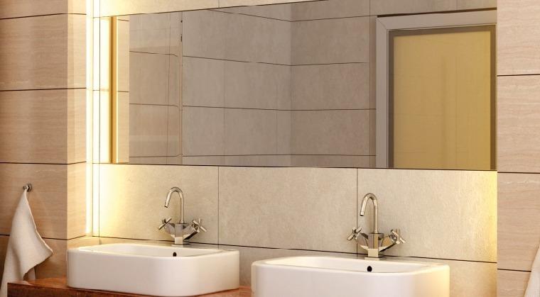 bathroom LED lighting waterproof aluminium profiles