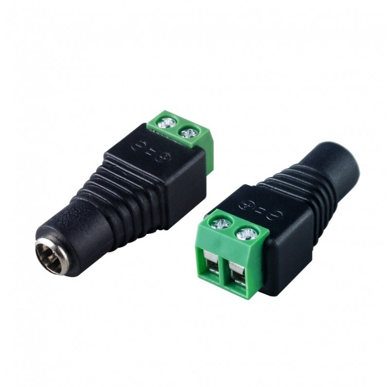 2.1mm x 5.5mm female DC power connector