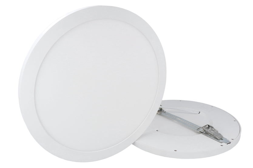 EasyFix LED panel round slim design 2 types of mounting